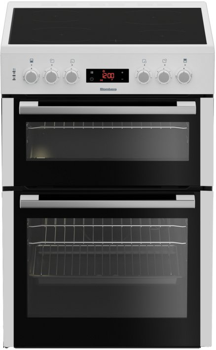 Blomberg HKN65W Ceramic Electric Cooker with Double Oven