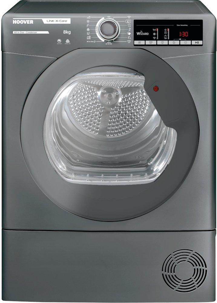 Hoover HLXC8TRGR Condenser Dryer