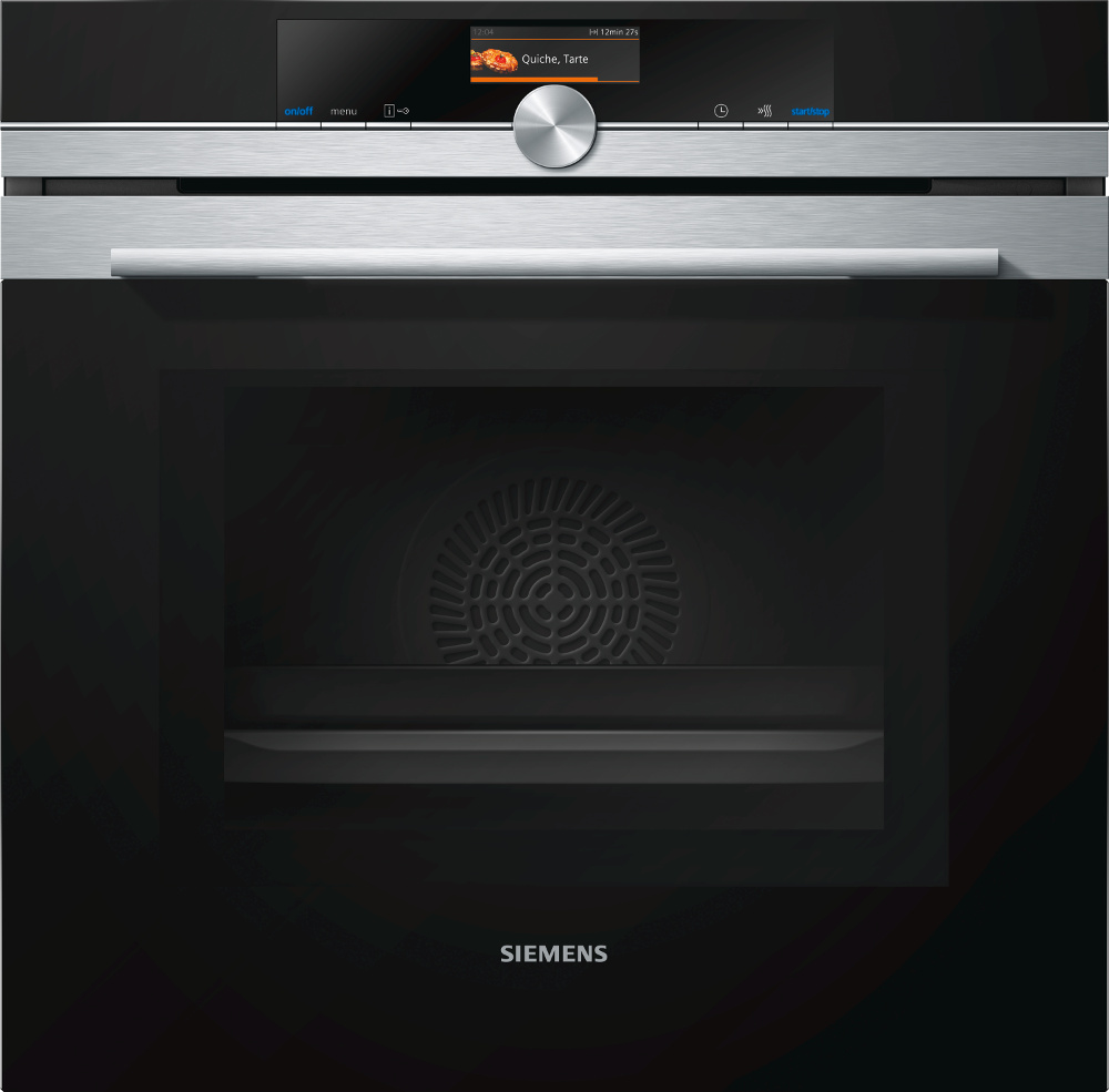 Siemens HM676G0S6B Single Built In Electric Oven With Microwave