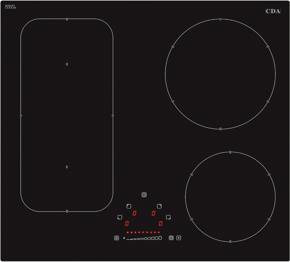 CDA HN6731FR Induction Hob