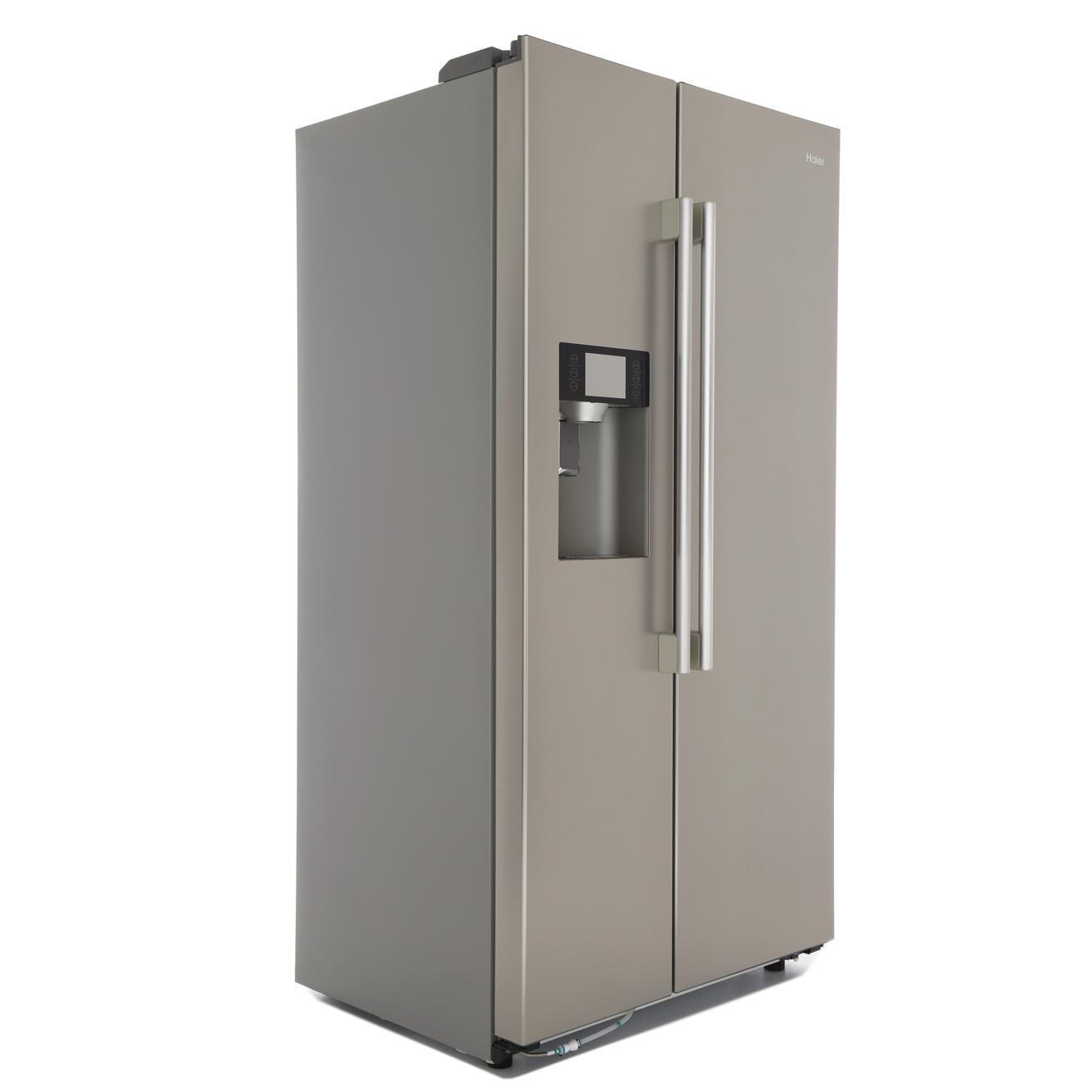 buy haier hrf 628if6 american fridge freezer stainless steel effect marks electrical. Black Bedroom Furniture Sets. Home Design Ideas