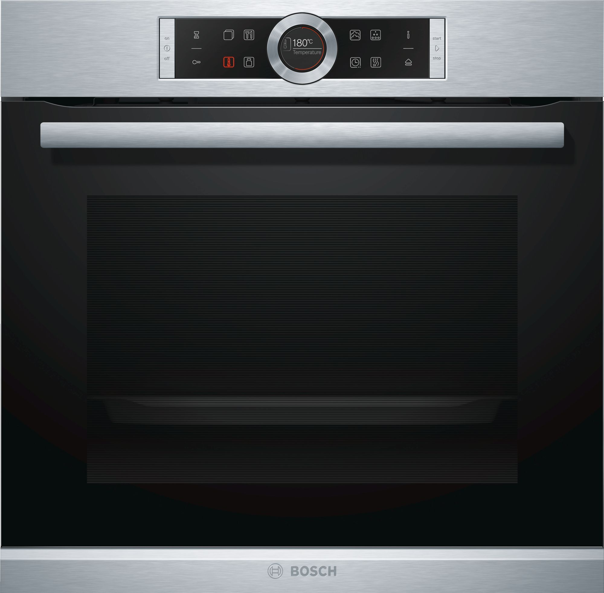Bosch Serie 8 HRG635BS1B Single Built In Electric Oven