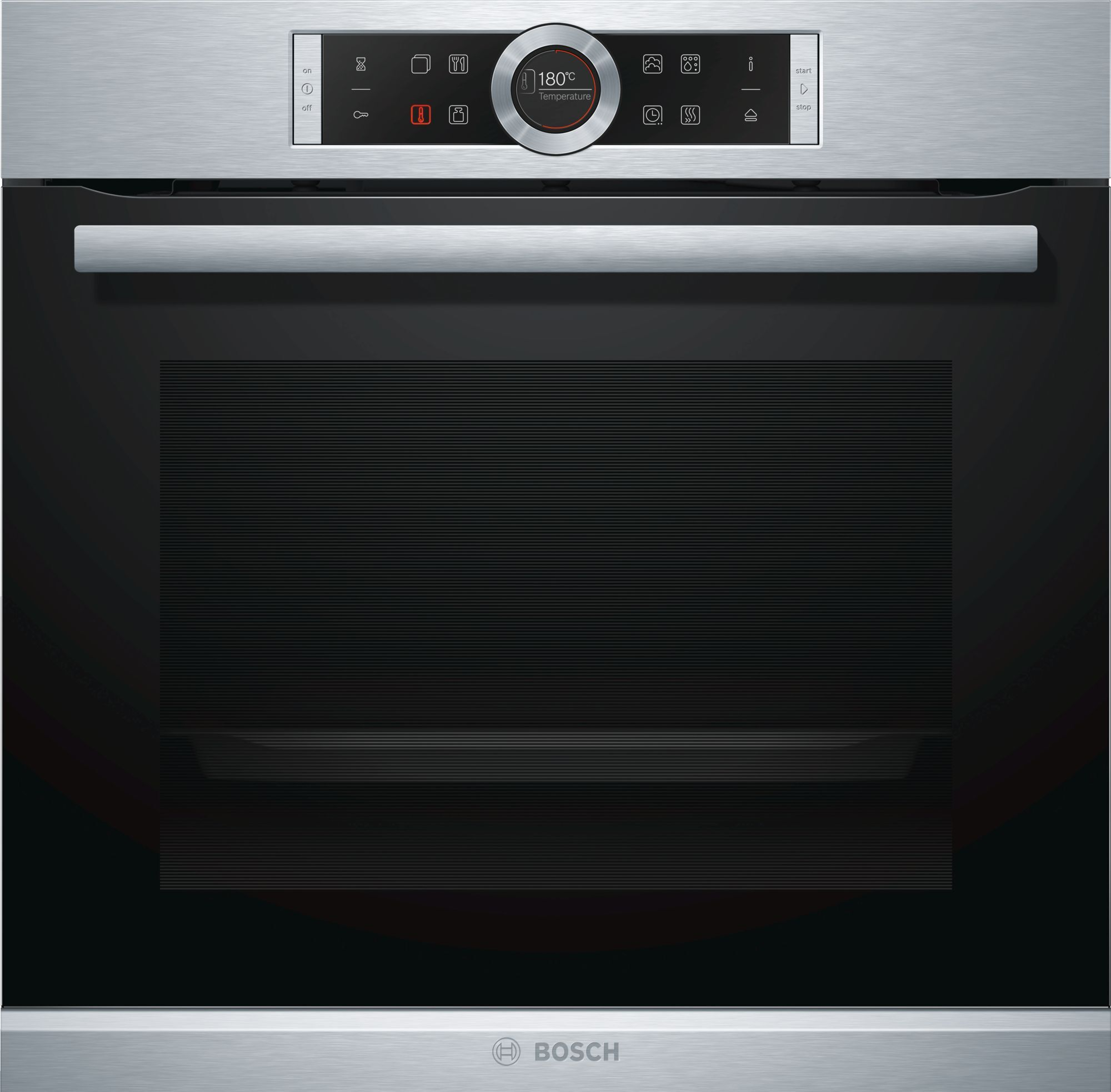 Bosch Serie 8 HRG675BS1B Single Built In Electric Oven