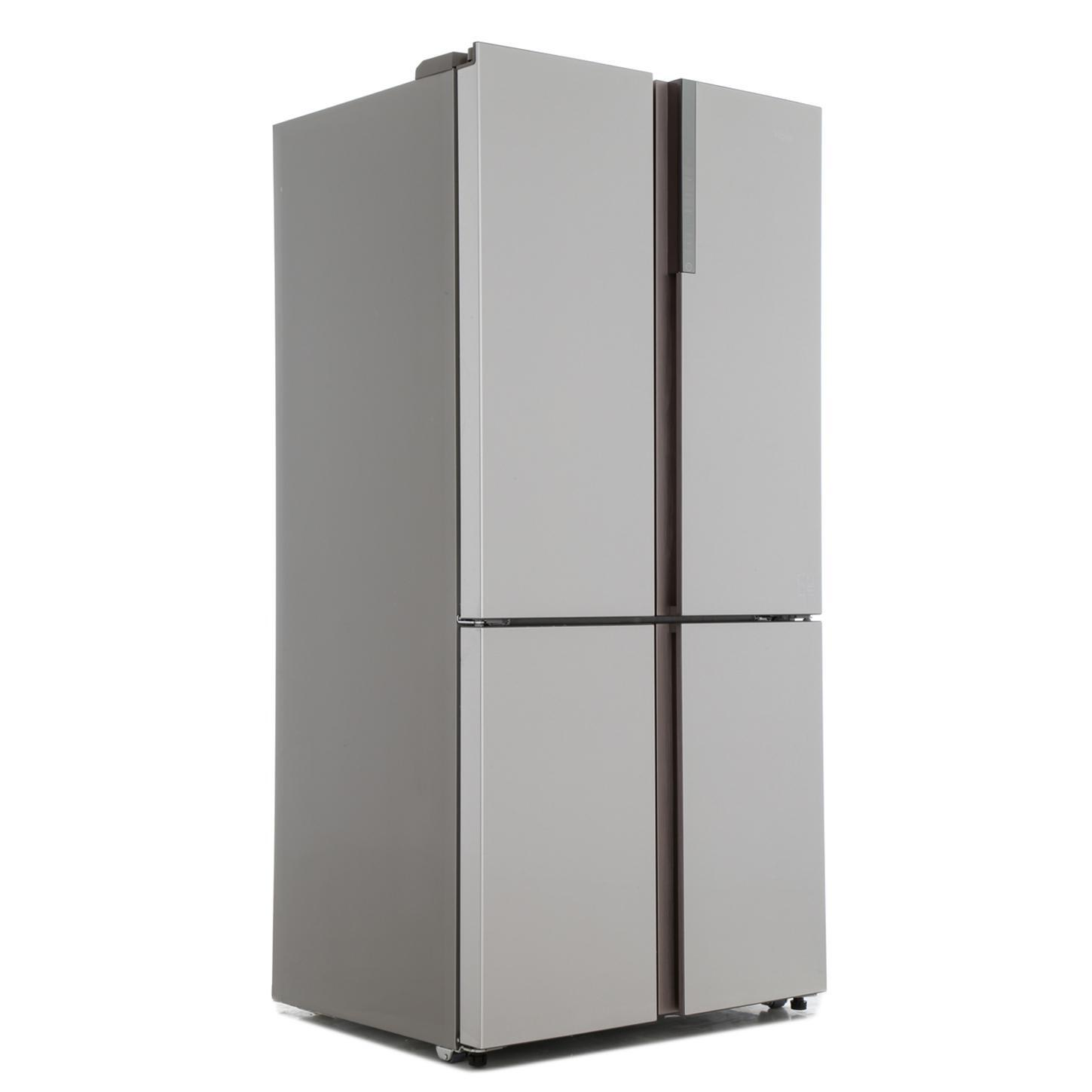 buy haier htf 610dm7 american fridge freezer stainless steel effect marks electrical. Black Bedroom Furniture Sets. Home Design Ideas