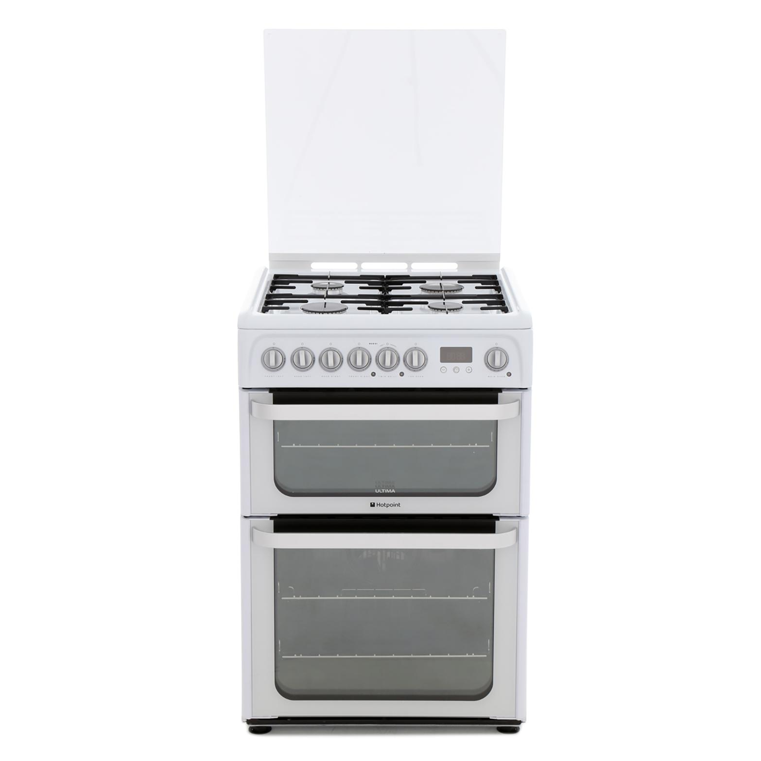 Hotpoint Experience HUD61PS Dual Fuel Cooker