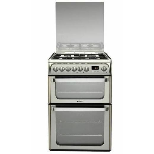 Hotpoint Ultima HUD61X Dual Fuel Cooker