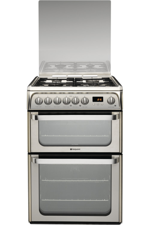 Hotpoint Experience HUD61XS Dual Fuel Cooker
