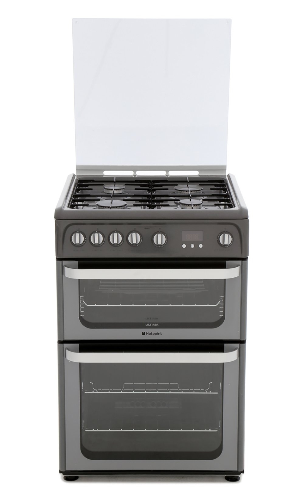 Hotpoint Ultima HUG61G Gas Cooker with Double Oven