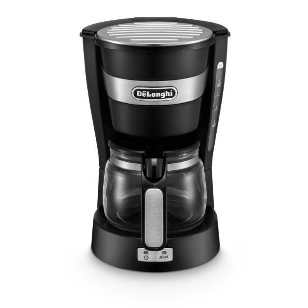 DeLonghi ICM 14011 Black Active Coffee Machine