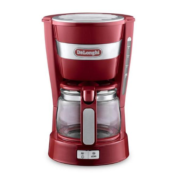 DeLonghi ICM 14011 Red Coffee Machine