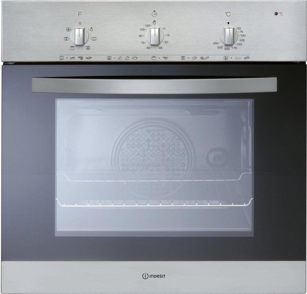 Indesit IFV5Y0IX Single Built In Electric Oven