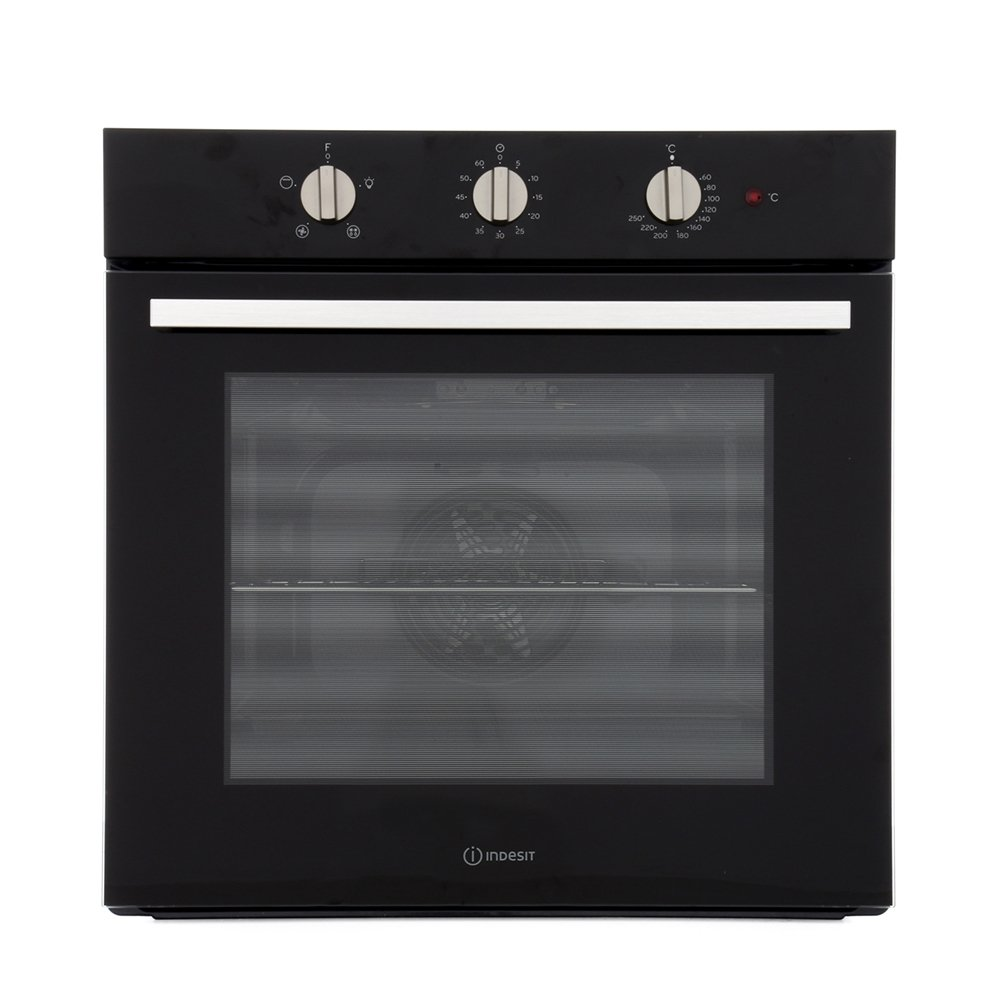 Indesit IFW6330BL Single Built In Electric Oven