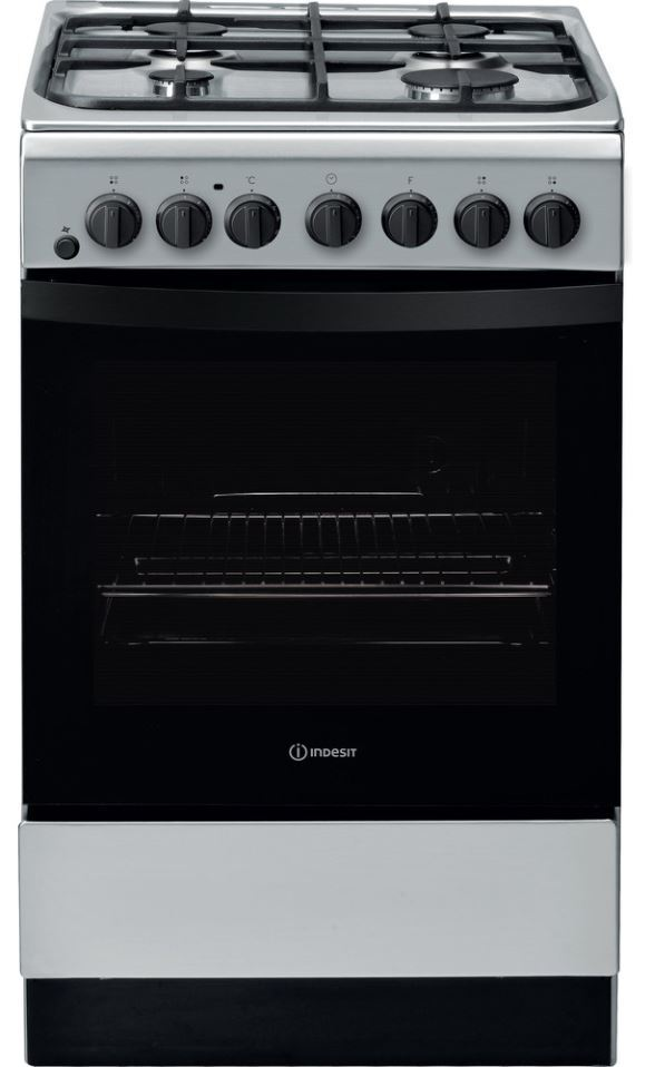 Indesit IS5G4PHSS/UK Dual Fuel Cooker