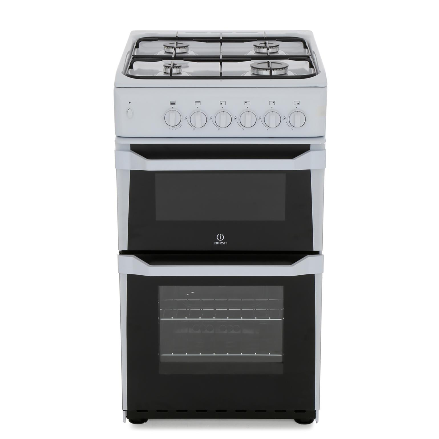 Indesit IT50GW Gas Cooker Separate Grill