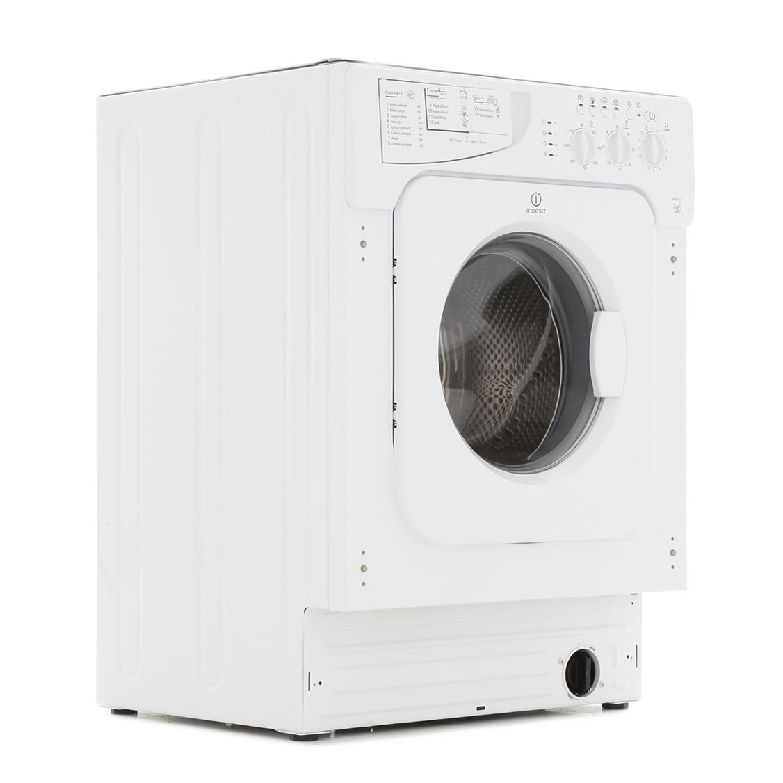 Indesit Advance IWME127UK Integrated Washing Machine