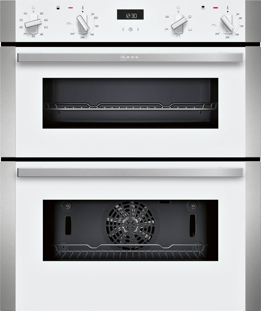 Neff N50 J1ACE2HW0B Double Built Under Electric Oven