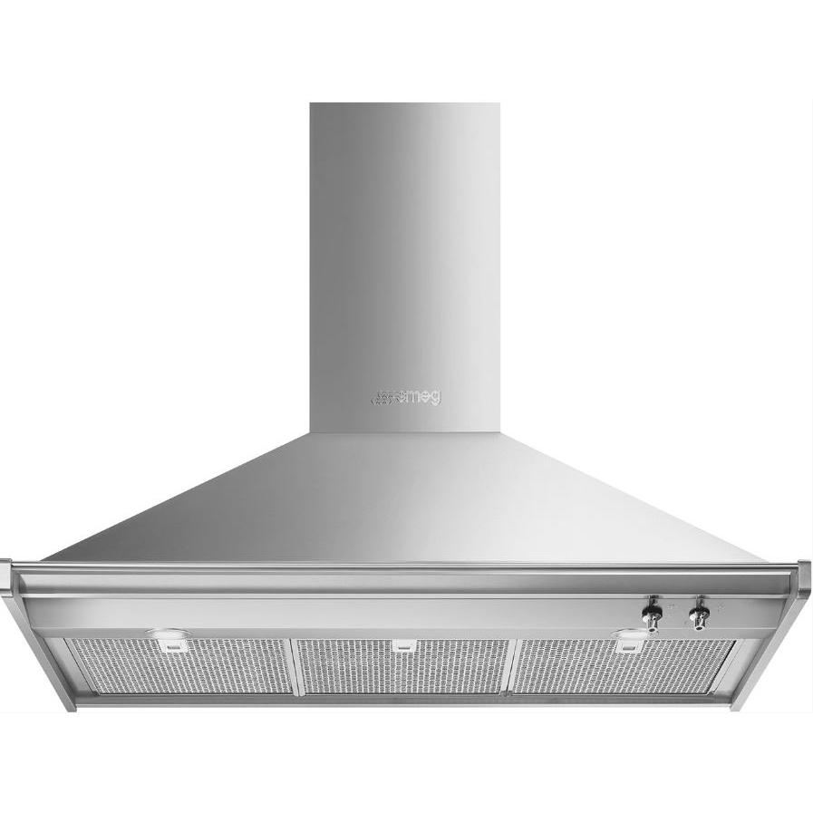 Smeg Opera KD100HXE Stainless Steel 100cm Chimney Hood