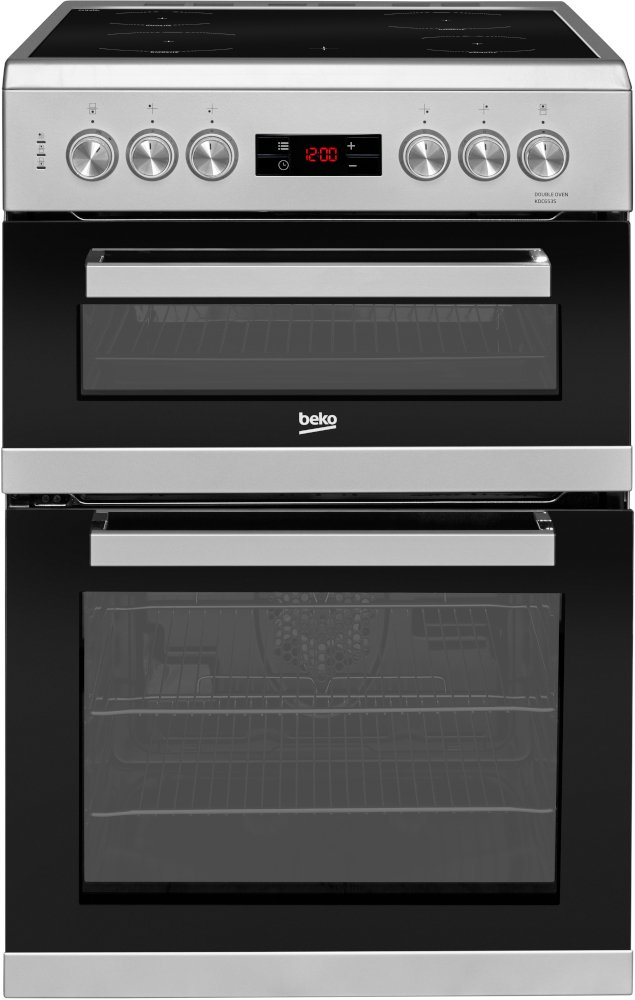 Beko KDC653S Electric Cooker with Double Oven
