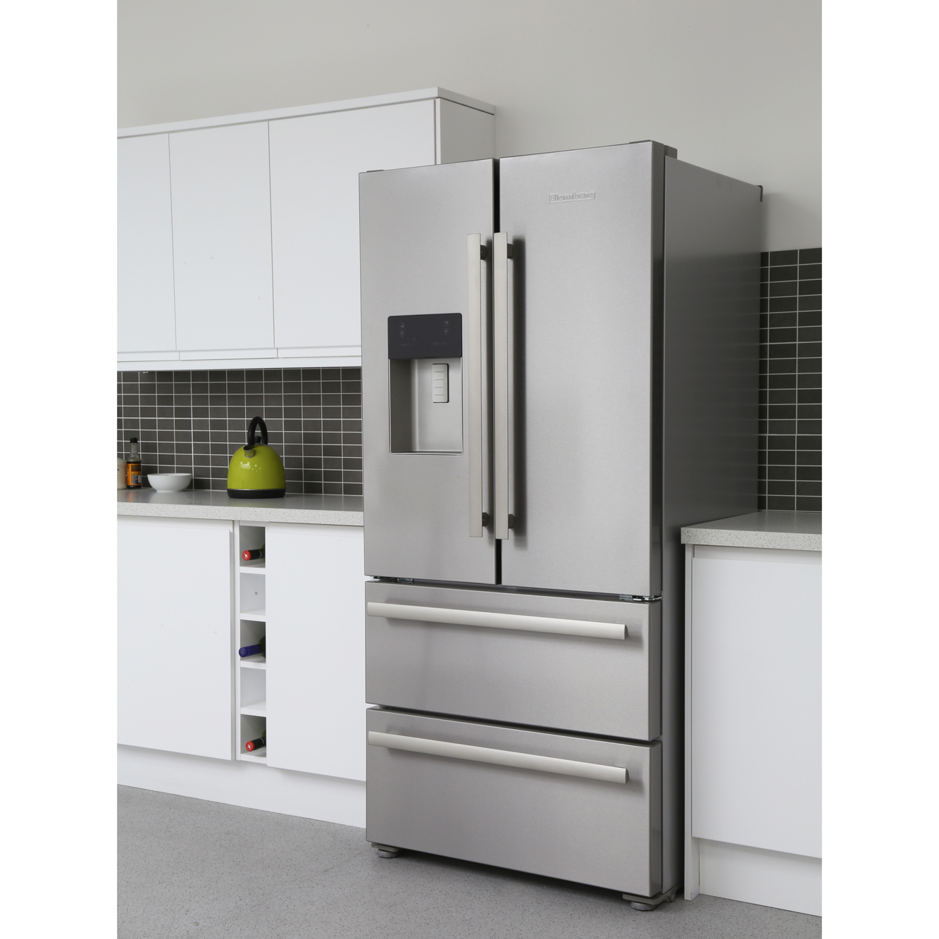 Good American Fridge Freezer With Drawers Part - 9: Blomberg KFD4952XD American Fridge Freezer
