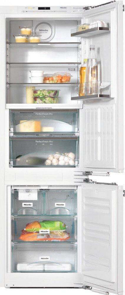 Miele KFN 37692 iDE Frost Free Integrated Fridge Freezer