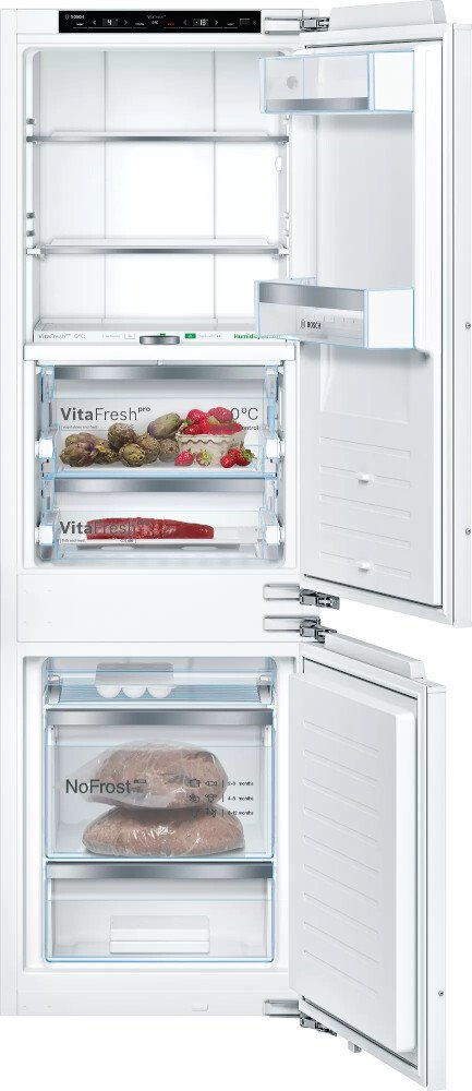 Bosch Serie 8 KIF86PFE0 Frost Free Integrated Fridge Freezer