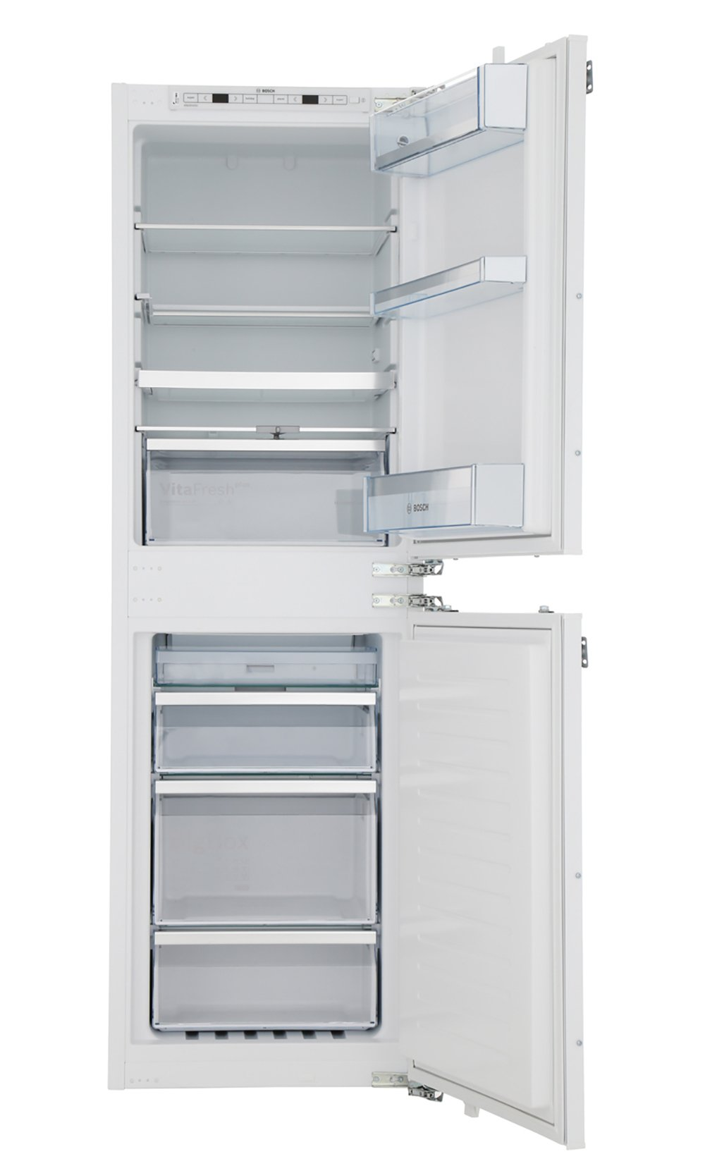 Bosch Serie 6 KIN85AF30G Frost Free Integrated Fridge Freezer