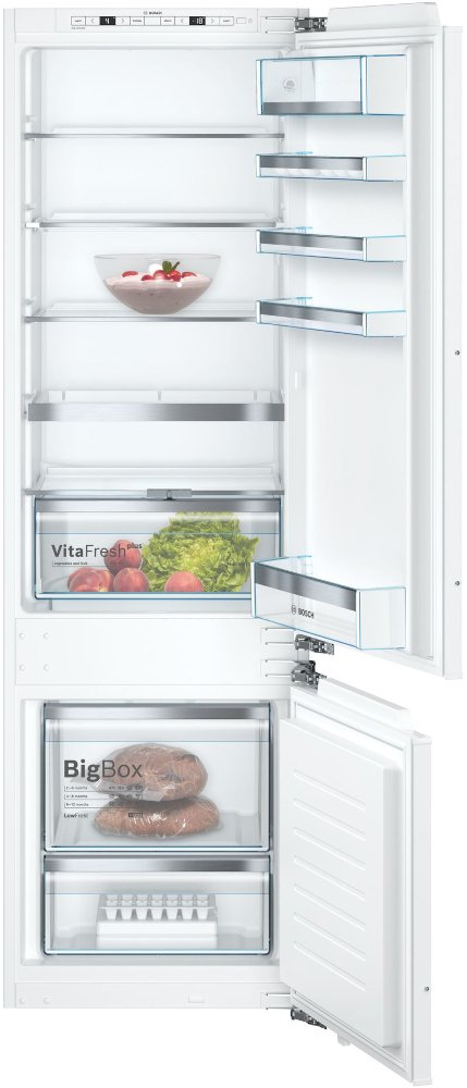 Bosch Serie 6 KIS87AFE0G Low Frost Integrated Fridge Freezer