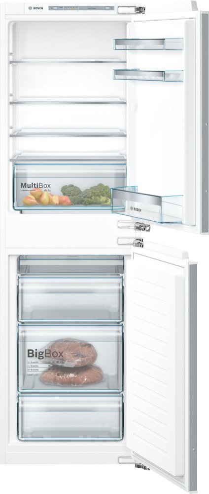Bosch Serie 4 KIV85VFF0G Low Frost Integrated Fridge Freezer