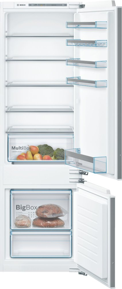 Bosch Serie 4 KIV87VFF0G Low Frost Integrated Fridge Freezer