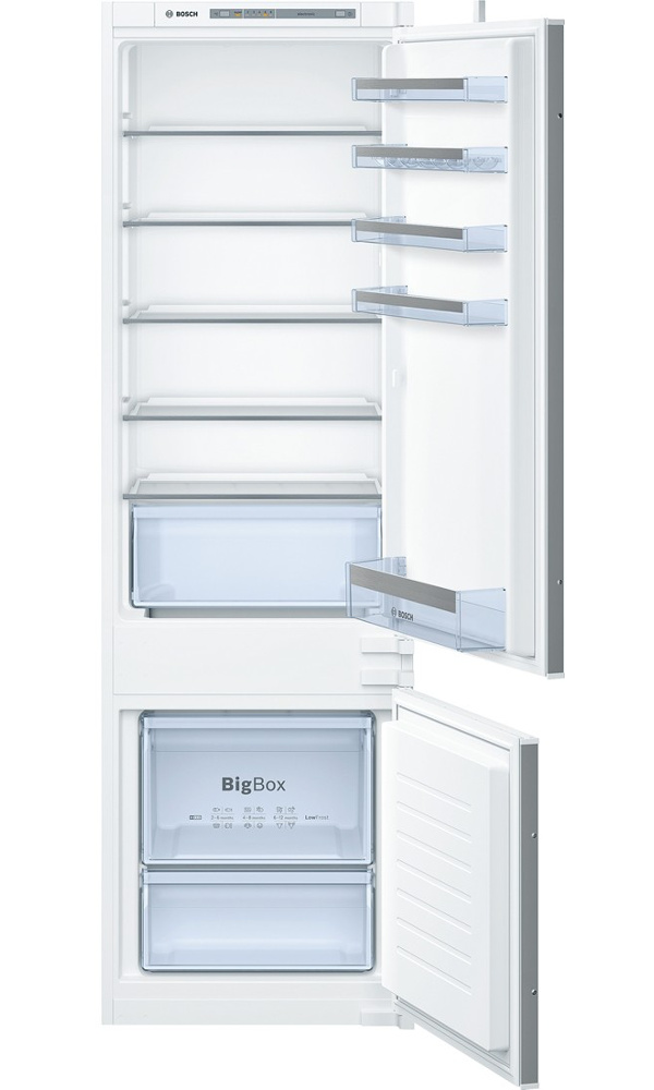 Bosch Serie 4 KIV87VS30G Low Frost Integrated Fridge Freezer