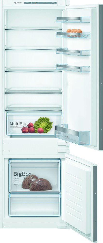 Bosch Serie 4 KIV87VSF0G Low Frost Integrated Fridge Freezer