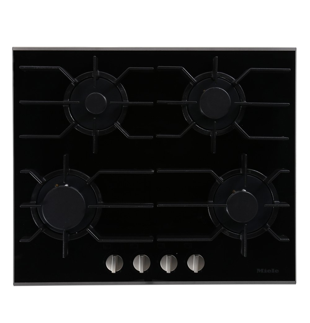 Miele KM3010 Stainless Steel and Glass 4 Burner Gas Hob