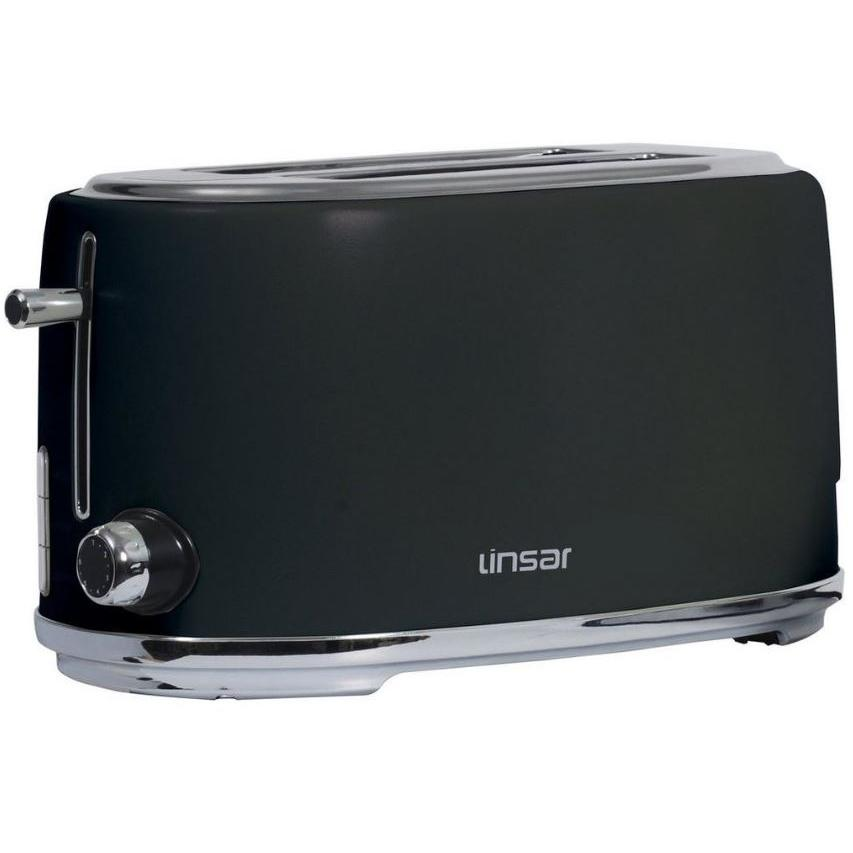 Linsar KY832BLACK 4 Slice Toaster