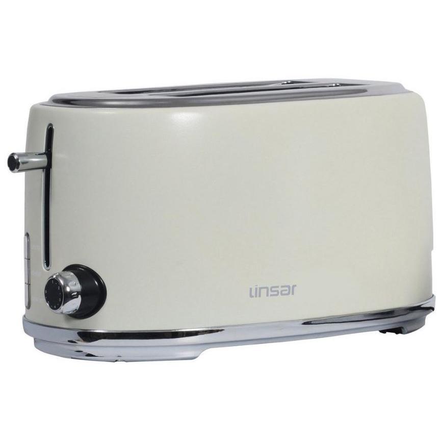 Linsar KY832CREAM 4 Slice Toaster