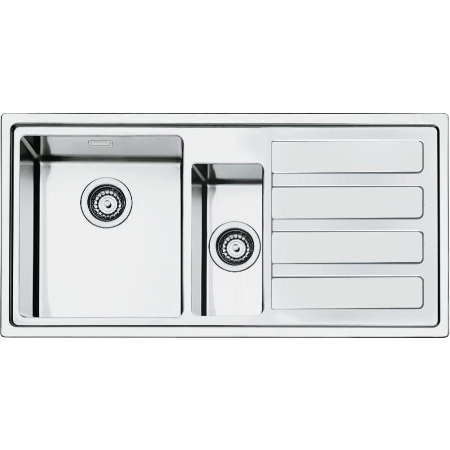 Smeg Mira LD102D-2 Right Hand Drainer Stainless Steel UltraProfile Inset Sink