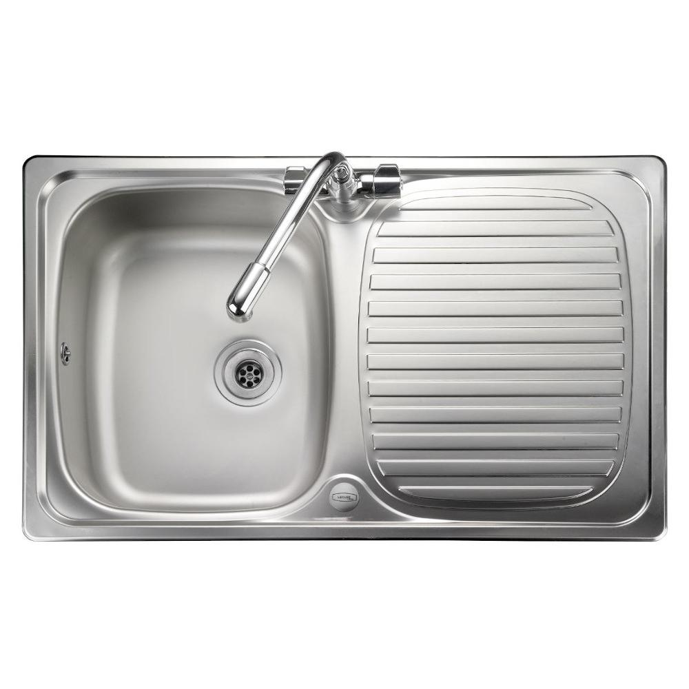 Leisure Compact LR8001 Stainless Steel Inset Sink