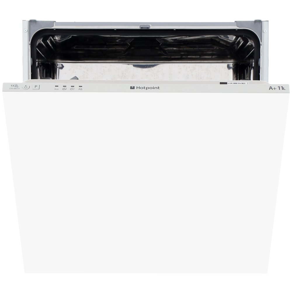 Hotpoint Aquarius LTB4B019 Built In Fully Integrated Dishwasher