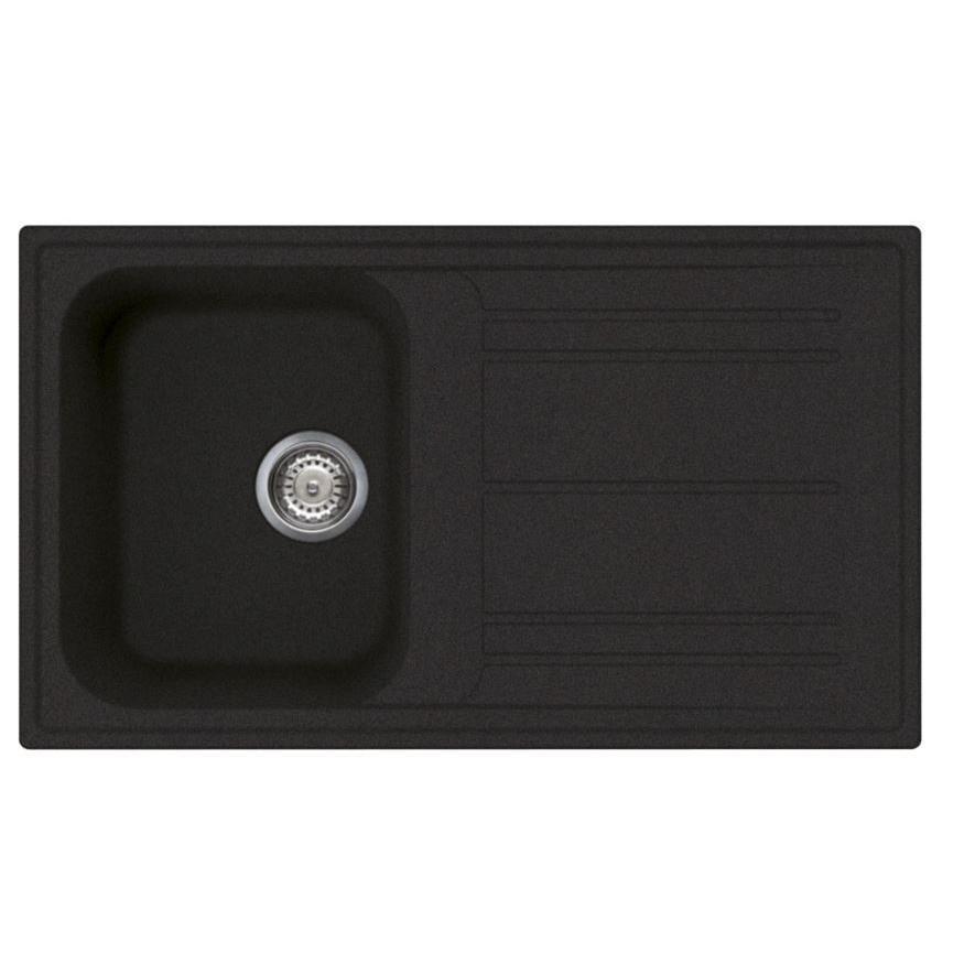 Smeg Rigae LZ861A2 Reversible White Composite Granite Inset Sink