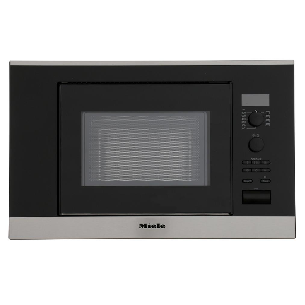 Miele ContourLine 6032SC CleanSteel Built In Microwave with Grill