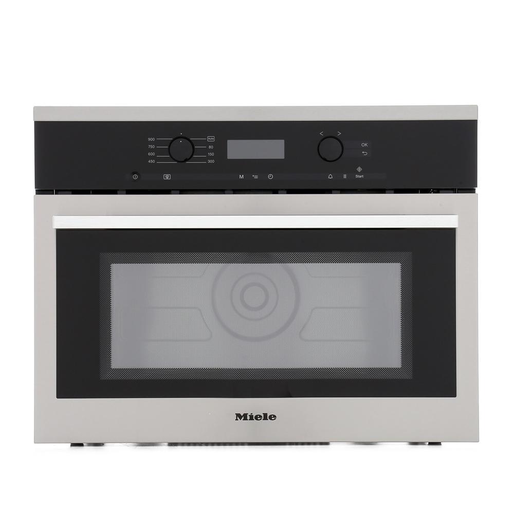 Miele ContourLine M6160TC CleanSteel Built In Microwave