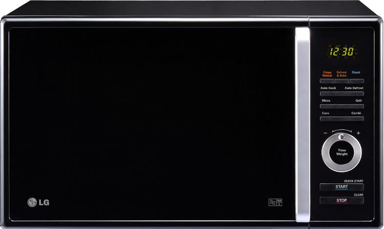 Lg microwave black