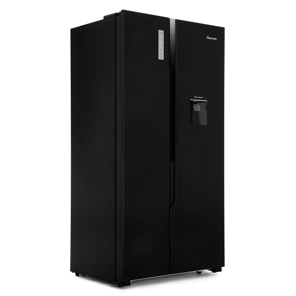 Fridgemaster MS91515BFF American Fridge Freezer