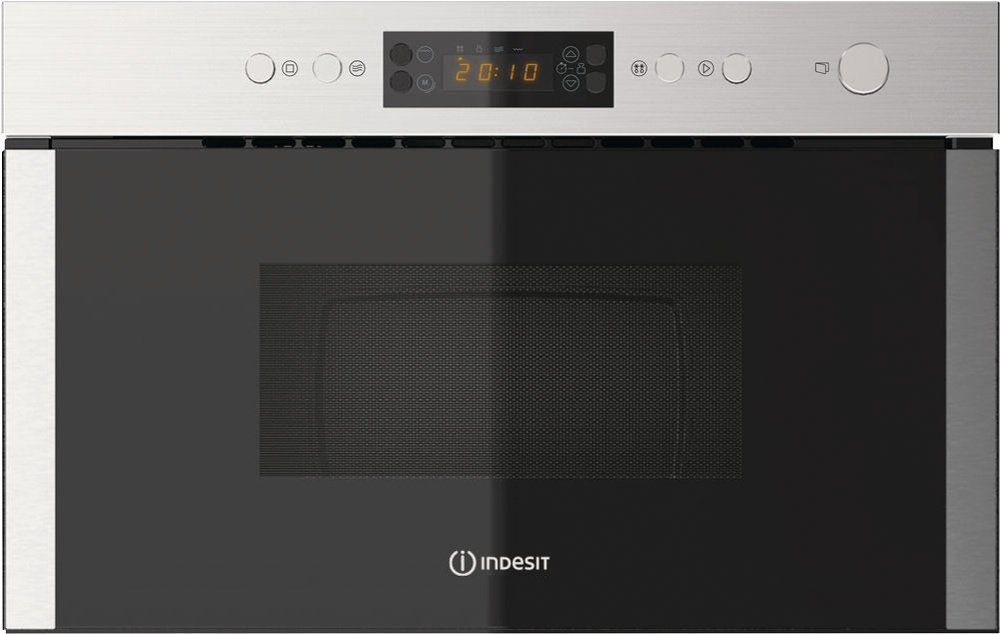 Indesit MWI 5213 IX UK Built In Microwave with Grill