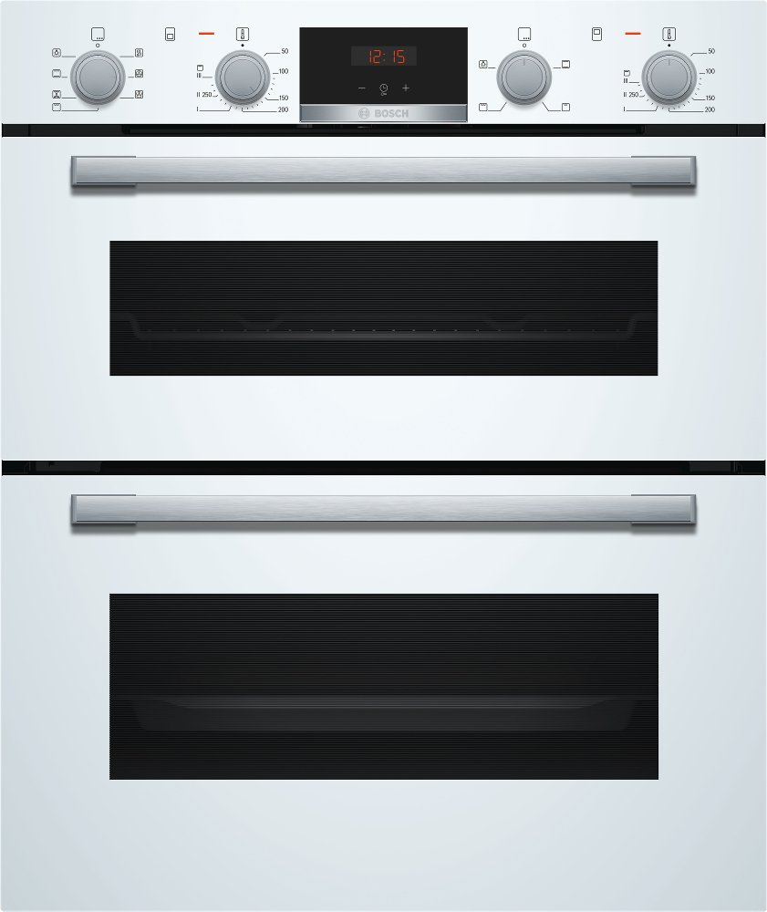 Bosch Serie 4 NBS533BW0B Double Built Under Electric Oven