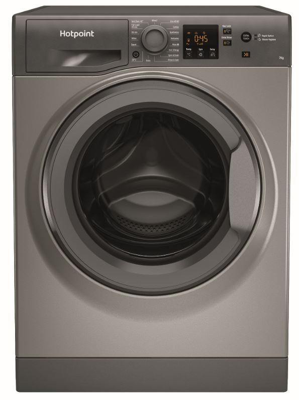 Hotpoint NSWF 742U GG UK N Washing Machine