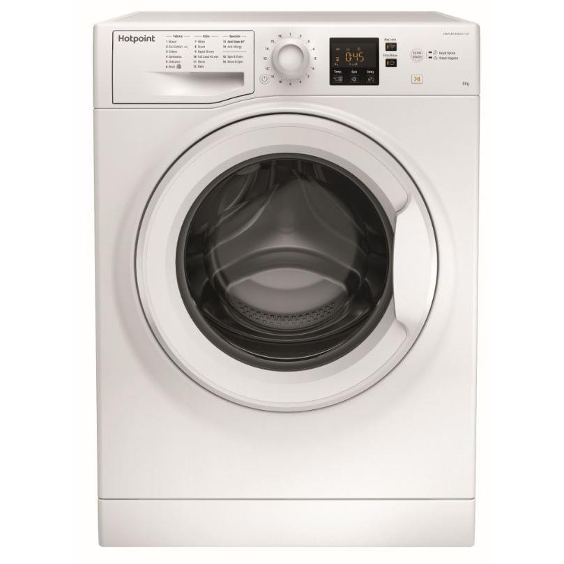Hotpoint NSWF843CW Washing Machine