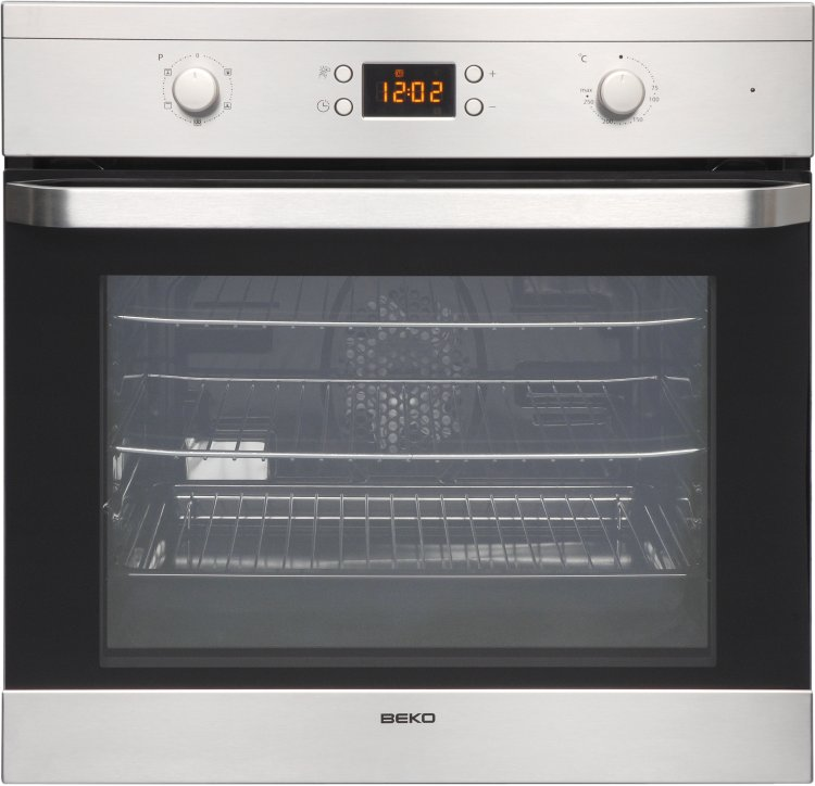 Amazing Built In Electric Cooker Part - 14: Beko OIF22300X Single Built In Electric Oven