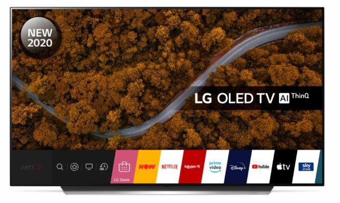 "LG OLED55CX5LB.AEK 55"" OLED 4K Smart Television"