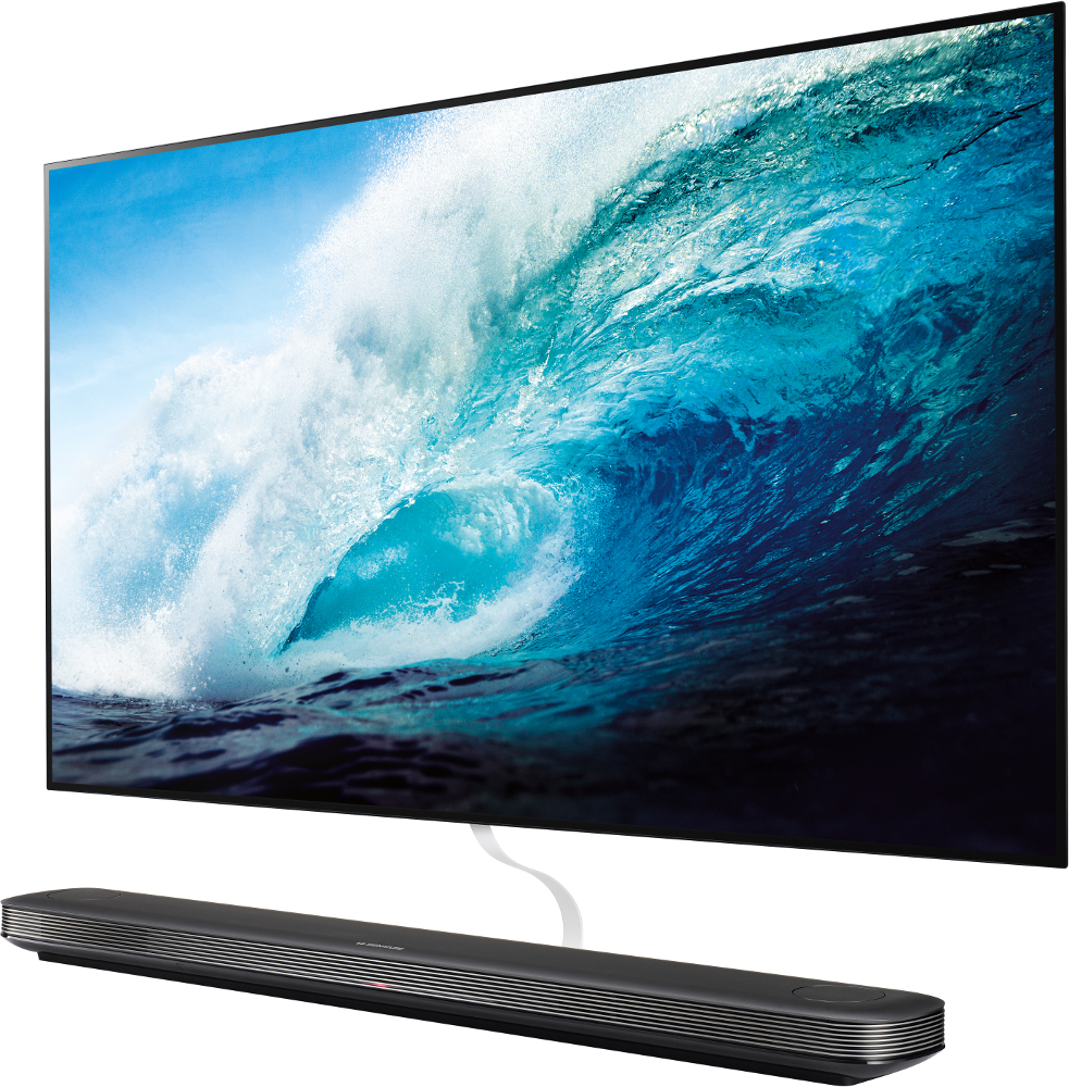 lg signature oled65w7v 65 4k oled wallpaper television oled65w7v black buy online today. Black Bedroom Furniture Sets. Home Design Ideas
