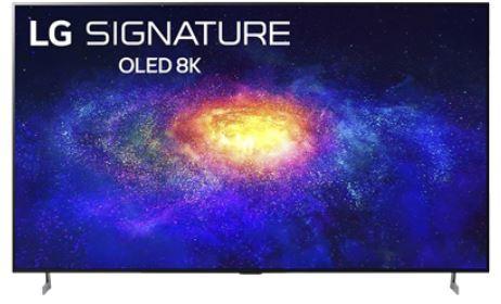 "LG OLED88ZX9LA.AEK 88"" 8K Signature OLED Television"